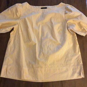 JCrew puff sleeve blouse